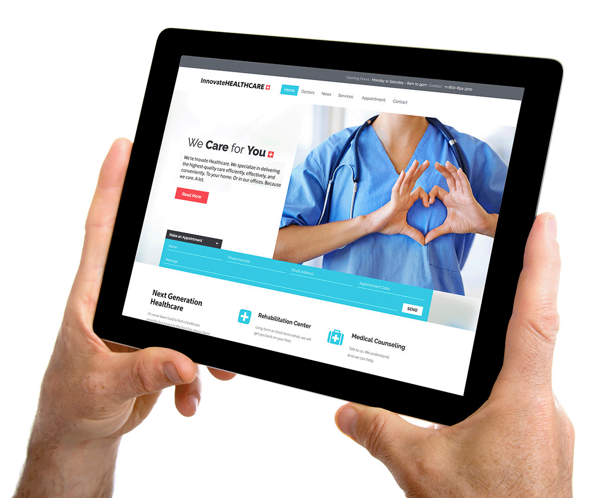 Ipad-medical-website